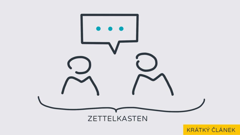 Zettelkasten jako diskuzní fórum